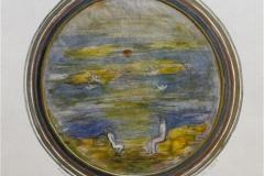 Vanne I Etsning, akvarell 21x21 cm 1000 ur