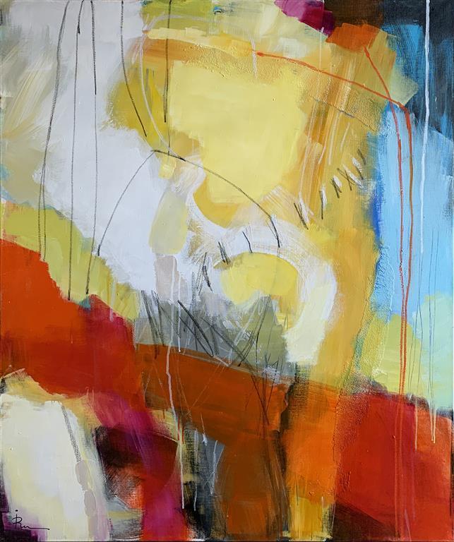 Project 314 Akrylmaleri(122x102 cm) kr 17000 ur