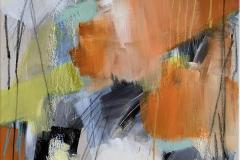 Concept 14 Akrylmaleri (80x60 cm) kr 8000 ur
