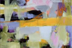 Suggestion 39 Akrylmaleri (100x100 cm) kr 15000 ur