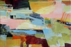 Suggestion 42 Akrylmaleri (100x100 cm) kr 14000 ur
