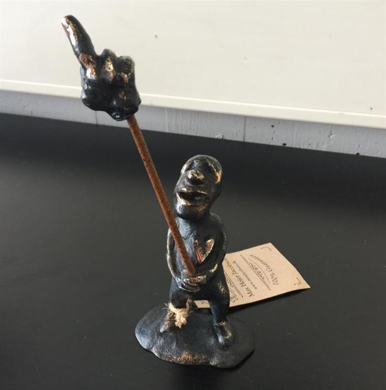 Bare sig F... det Bronze (19x8 cm) kr 5200