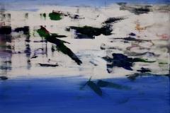 Blaa opus Akrylmaleri 60x60 cm 6000 mr
