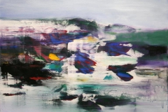 Jaerstrand Akrylmaleri 70x70 cm 8000 mr