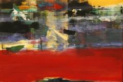 Mot kveld Akrylmaleri 70x100 cm 10500 mr
