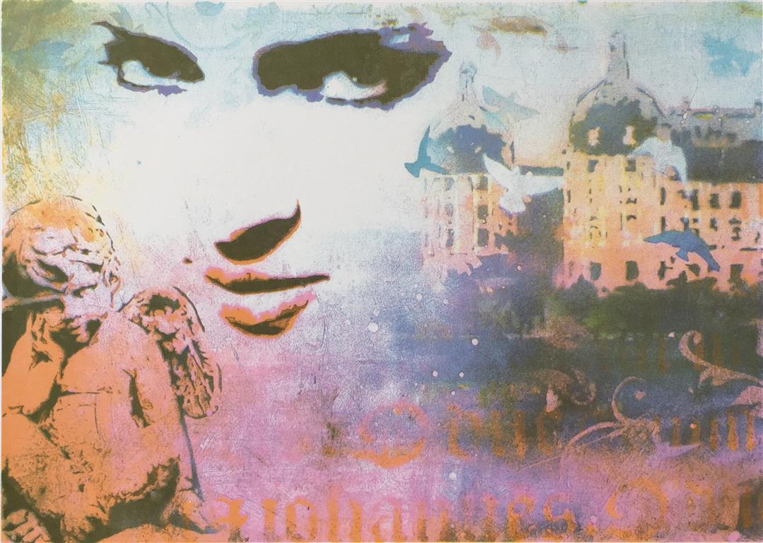 Scene Serigrafi (25x35 cm) kr 2500 ur