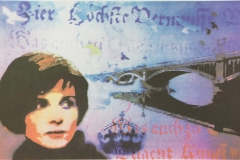 Broen Serigrafi (19x30 cm) kr 1900 ur