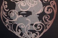 Minne Linosnitt 11x11 cm 500,-kr u.r.