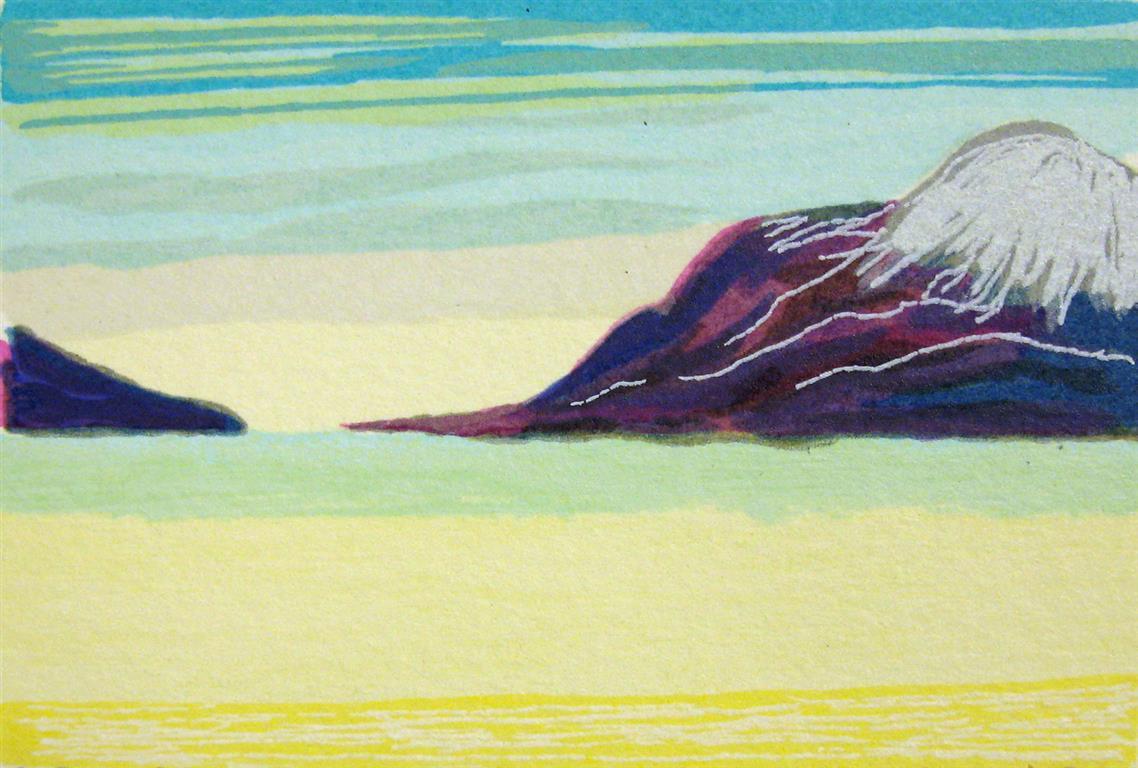 Fra Ramnflauget I Litografi (7x10,5 cm) kr 250 ur