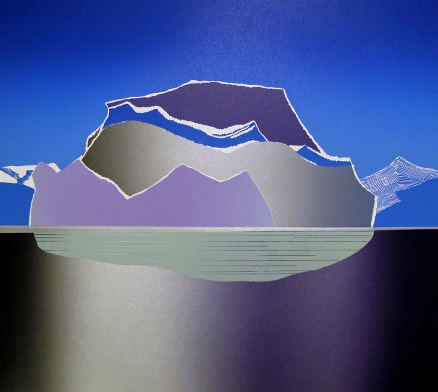 Isens domene Linosnitt (48x53,5 cm) kr 4500 ur