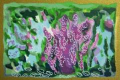 Full flor Litografi (7x10,5 cm) kr 250 ur
