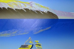 Island Linosnitt (58x44 cm) kr 4000 ur