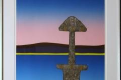 Makt (Snorre VII) Linosnitt (57,5x44,5 cm) kr 6000 mr