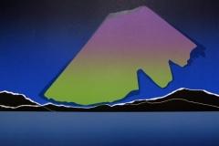 Nordlys Linosnitt (46,5x50,5 cm) kr 4000 ur