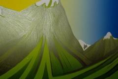 Sommerdag Linosnitt (57x41,5 cm) kr 5000 ur