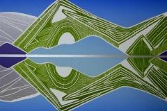 Speilbilde I Linosnitt (49,5x36 cm) kr 2500 ur
