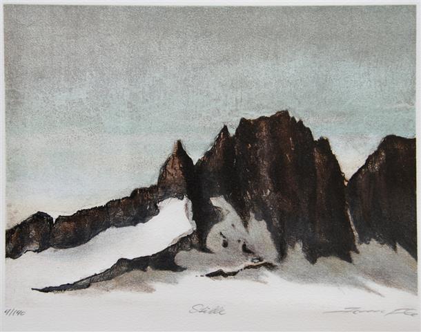 Stille Litografi (20,5x28 cm) kr 1600 ur