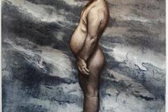 Kongen på haugen Litografi (57x42 cm) kr 2900 ur