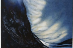 Månelys Litografi (61x48 cm) kr 3100 ur