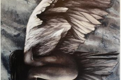 Nattsvev Litografi (57x42 cm) kr 3000 ur