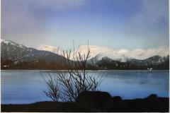 Ved fjorden Litografi (38,5x56,5 cm) kr 2900 ur