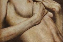 Kvinne torso Litografi 51x36 cm 2500 ur (Medium)