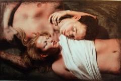 Romeo og Juliet I Litografi 47x72 cm 3800 ur (Medium)