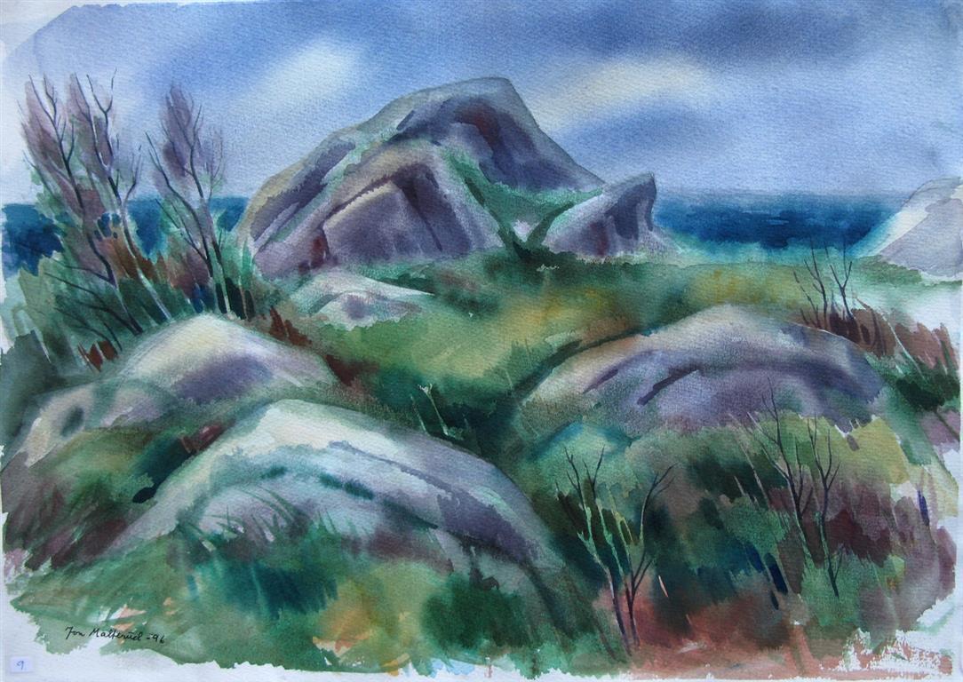 Steiner Akvarell 37x52,5 cm 2500 ur