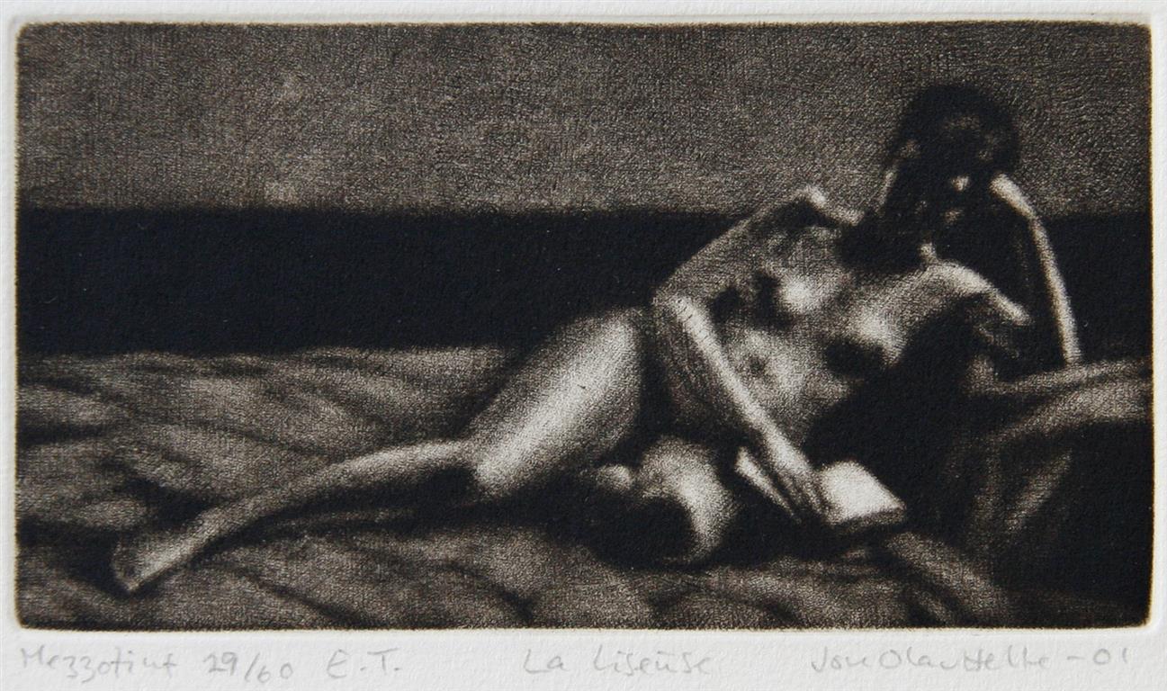 La liseuse Mezzotint 8x14,5 cm 800 ur
