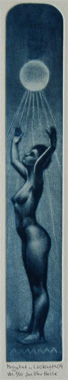 Livskraft Mezzotint (variant) 18,5x4,5 cm 1200 ur