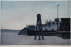 I isen Etsning 28x43 cm 1500 ur