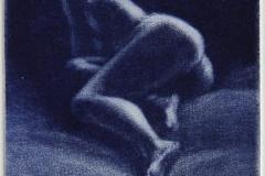 Inn i moerket Mezzotint variant 8x7,5 cm 600 ur