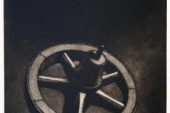 Nav og natt Mezzotint 26x18 cm 1100 ur