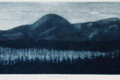 Sommernatt Mezzotint 9,5x31 cm 1400 ur