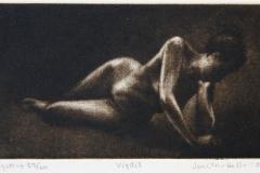 Vigdis Mezzotint 8x14,5 cm 800 ur