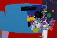 Abstrakt Droem Maleri 24x30 cm 3800 mr