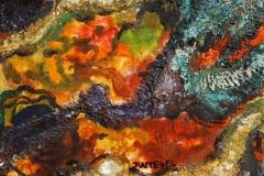 Høstlys IV Oljemaleri (20x20 cm) kr 1200 ur
