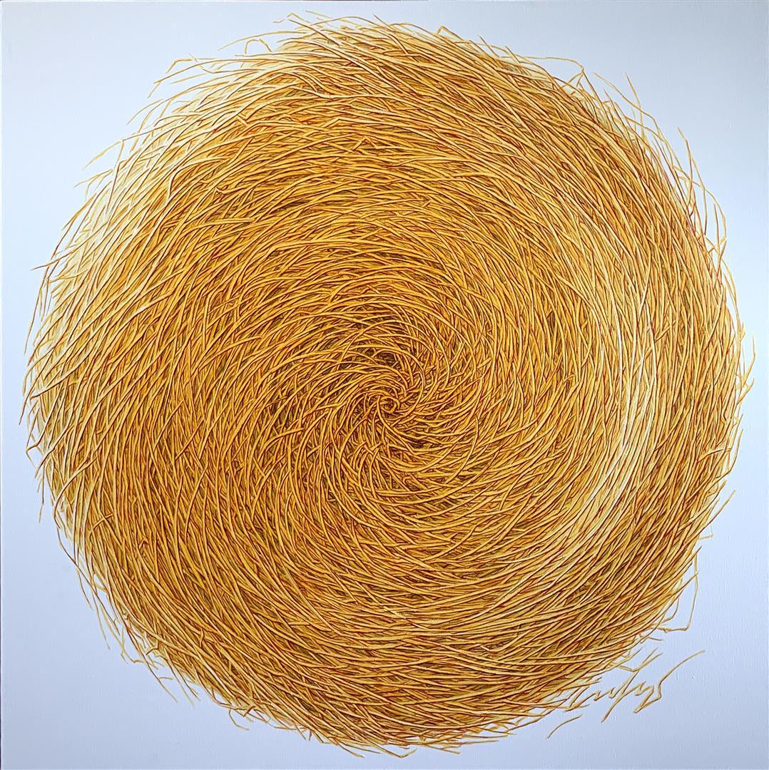 "Antoniy Sofev ""Sunny labyrinth"" Oljemaleri (100x100 cm) kr 15500 ur"