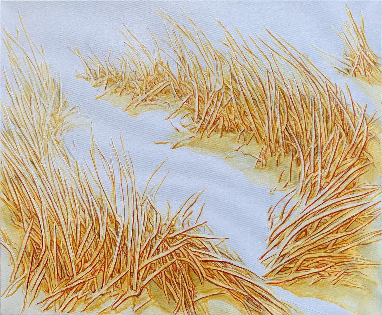 """Antoniy Sofev """"Sunny rhythm II"""" Oljemaleri (38x46 cm) kr 6500 ur"""