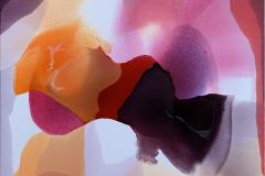 Annette Bryne Farge og flyt III Akrylmaleri (80x80 cm) kr 8000 ur
