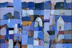 Bjørn Chr Røed Den blå timen Akrylmaleri (40x50 cm) kr 5800 mr