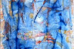 Elena Vorobyeva Turbolente tider II Oljemaleri (150x100 cm) kr 50000 ur