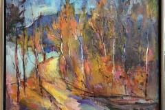 Arne Kleng Dahle Elvestien Akrylmaleri (65x81 cm) kr 9000 mr