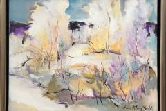 Arne Kleng Dahle Etter snøfall Akrylmaleri (40x50 cm) kr 4500 mr