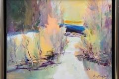 Arne Kleng Dahle Lys dag Akrylmaleri (40x50 cm) kr 4500 mr