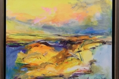 Arne Kleng Dahle Morgen Akrylmaleri (40x50 cm) kr 4500 mr