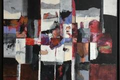 Bjørn Chr Røed Fjordlandskap Akrylmaleri (75x90 cm) kr 16000 mr