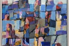 "Bjørn Chr Røed: ""Sommerdag"" Akrylmaleri (40x40 cm) kr 4000 mr"