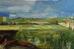 Craig Flannagan: Jæren Oljemaleri (80x160 cm) kr 36000 ur