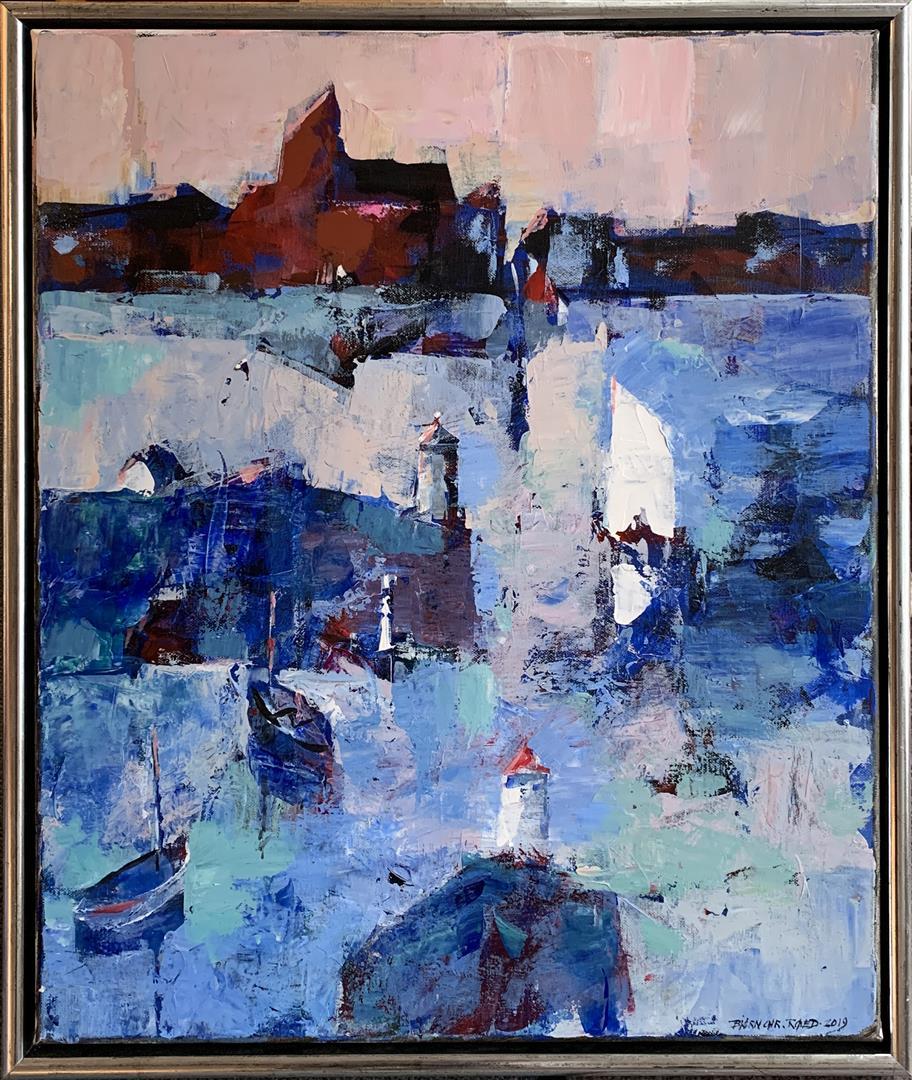 Bjørn-Christian Røed: Daggry Akrylmaleri (60x50 cm) kr 6000 mr